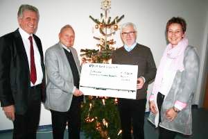 Aktuelles - Spendenübergabe für das Klinikum Bayreuth