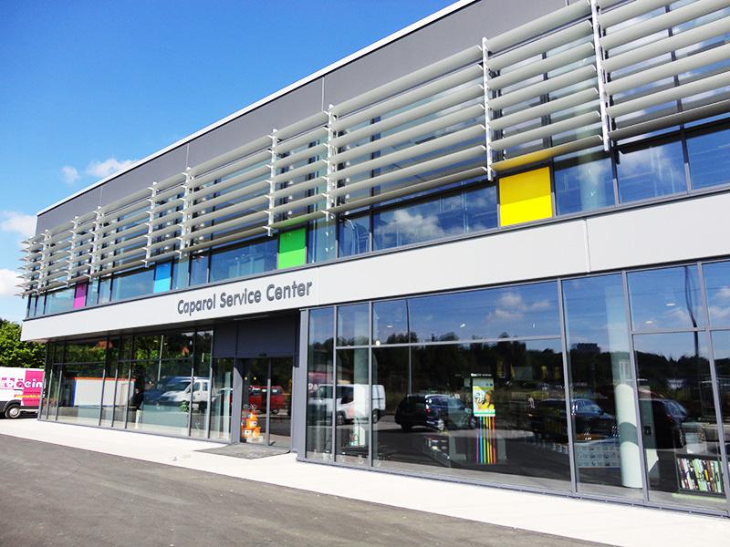Bayreuth Gesamtplanung Gewerbebau Farben Brunner Neubau
