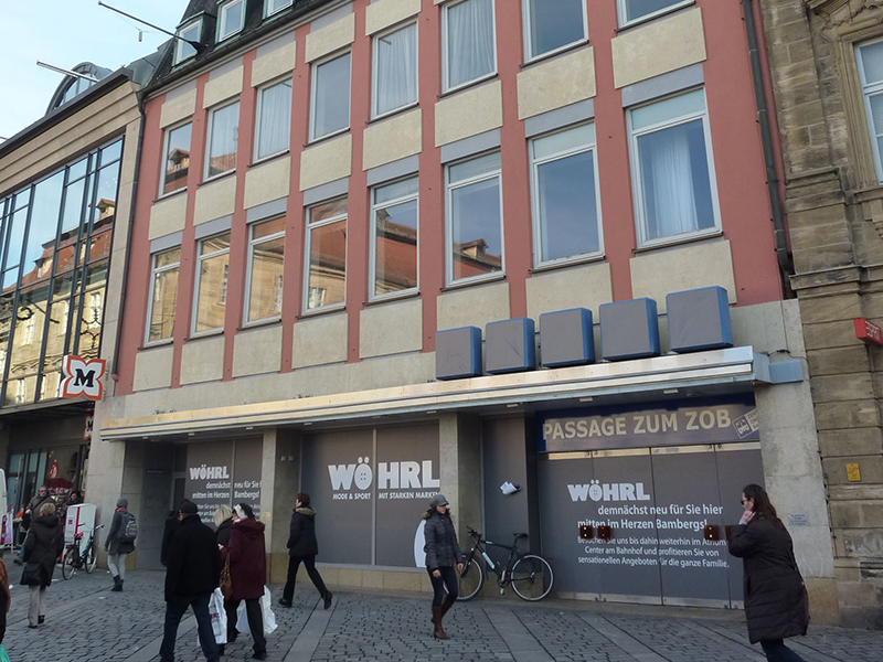 Gesamtplanung, Gewerbebau, Umbau, Sanierung, Bamberg, Wöhrl