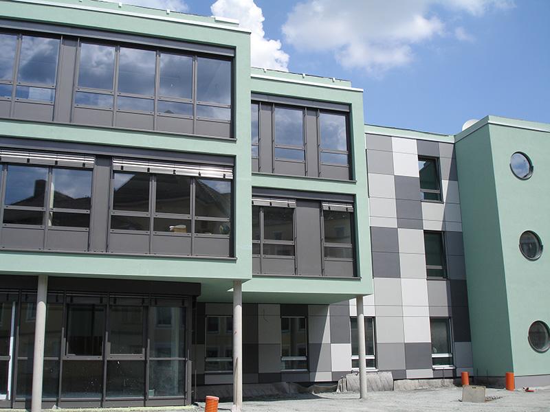 Tragwerksplanung, Schulen, Neubau, Bewehrungsabnahmen, Ingenieurtechnische Kontrolle, Markgrafenschule, Bayreuth