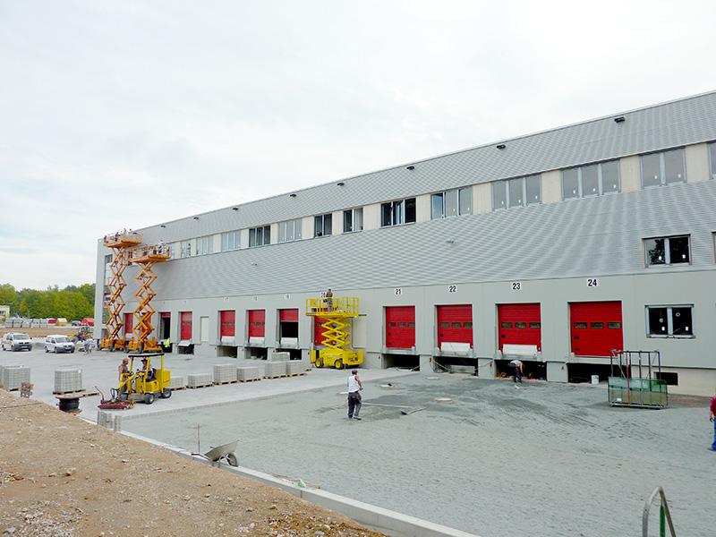 Tragwerksplanung, Wohnungs- und Gewerbebau, Neubau, Logistikzentrum, Planung, REWE, REWE-Foodservice, Bayreuth