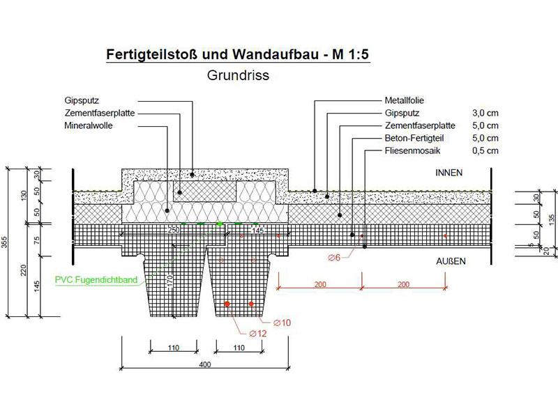 Instandhaltung, Betoninstandsetzung, Sanierungskonzept, Kostenabschätzung Betontechnologische Untersuchungen, denkmalgeschützte Fassade, Berlin