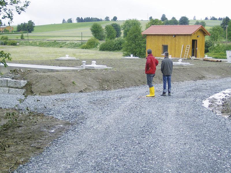 Tief- und Ingenierbau, Tragwerksplanung, Tiefbau, Abwassermanagement, Bauvermessung, Bauüberwachung, Bewehrungsabnahmen, Objektplanung, Neubau, Regenüberlaufbecken, Helmbrechts