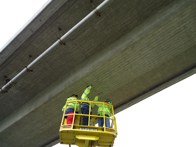Instandhaltung, Bauwerksprüfungen, Brückenprüfung, Hauptprüfung, Autobahn