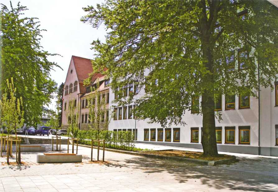Gebäudeplanung, Gesamtplanung, Sanierung, Umbau, Erweiterung, Schulen, Schulzentrum Naila, Gymnasium Münchberg, Realschule Helmbrechts, Tragwerksplanung