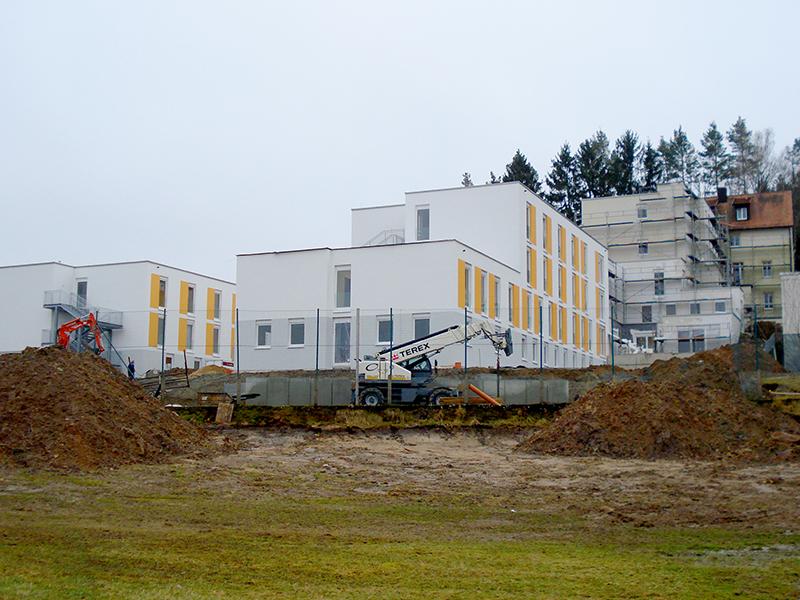 Haustechnik, Neubau, Fachklinik, Erweiterung, Hutschdorf, Elektrotechnik