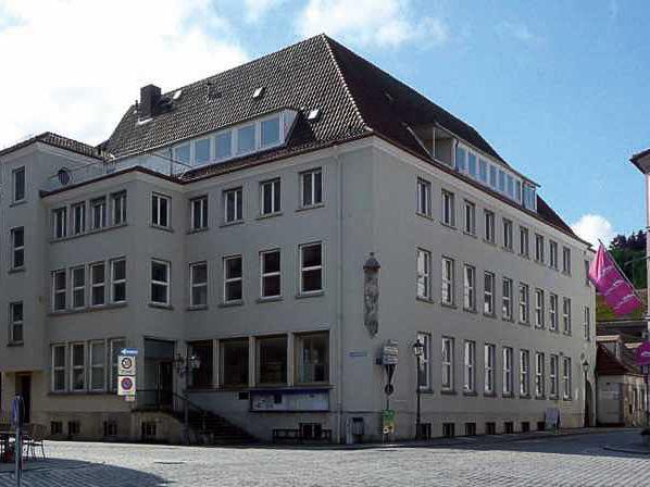 Gebäudeplanung, Gesamtplanung, Verwaltungsgebäude, Tragwerksplanung, Haustechnik, Umbau, Sanierung, Alte Sparkasse, Kulmbach
