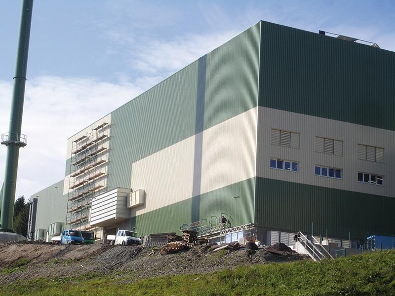 Tragwerksplanung, Industriebau, Neubau, Glaswerke, Ernstthal, Lauscha