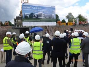 TenneT Campus Bayreuth Grundsteinlegung